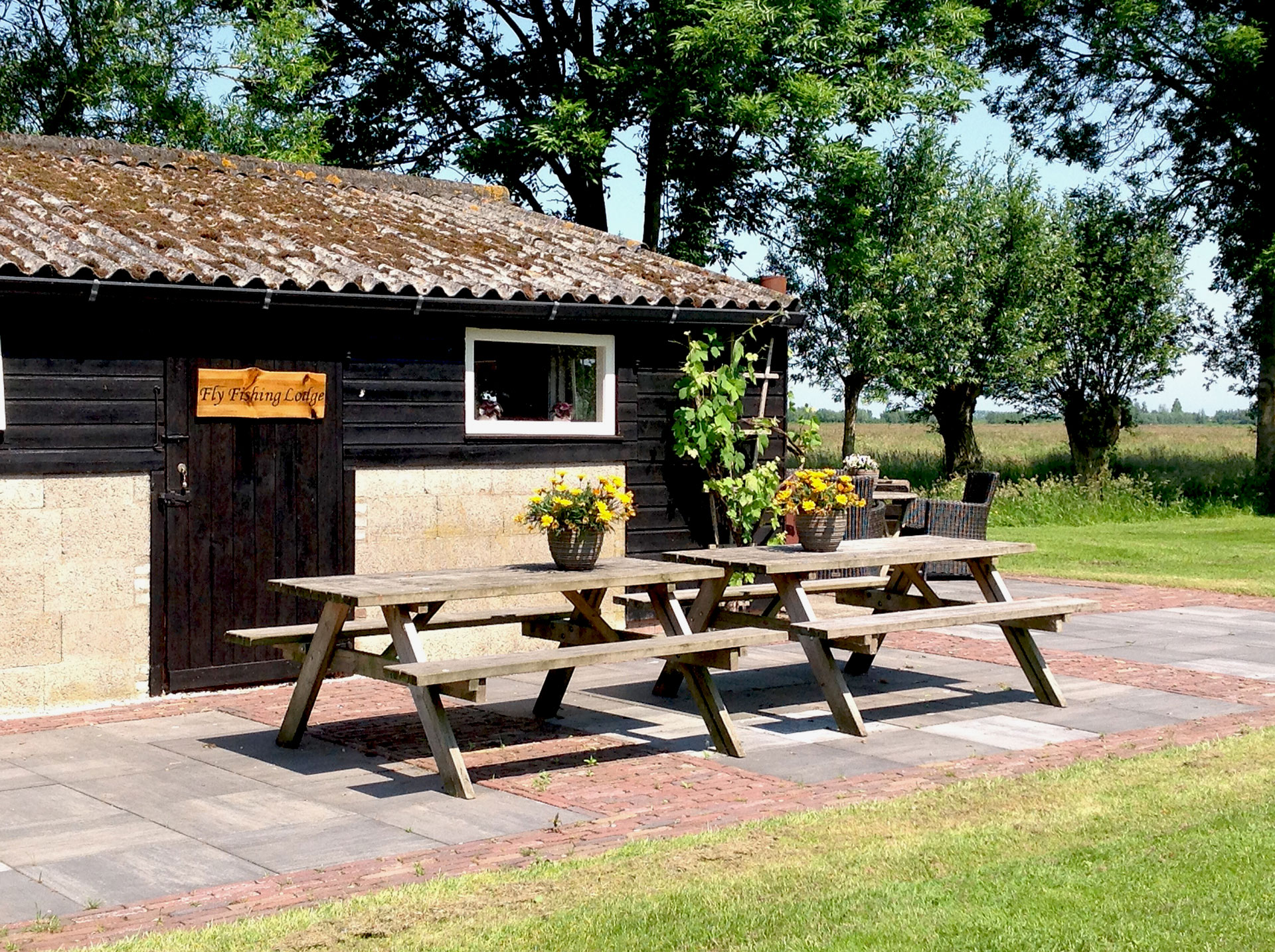 Fly Fishing Lodge